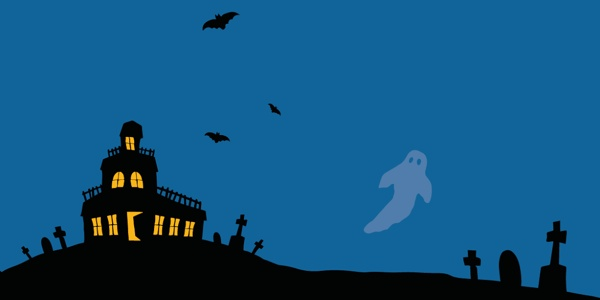 haunted house on hill