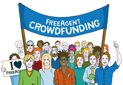 FreeAgent is crowdfunding