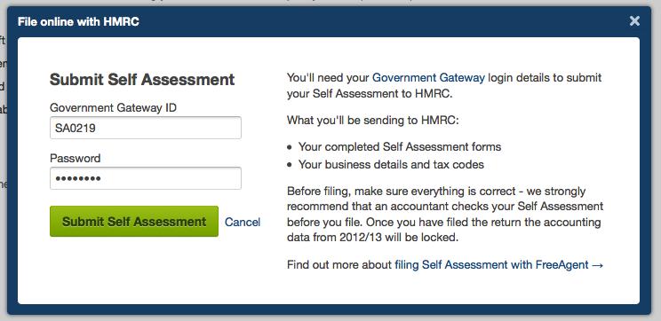 Filing a Self Assessment tax return with FreeAgent - FreeAgent